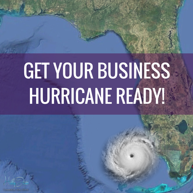 A hurricane can wipe your business off